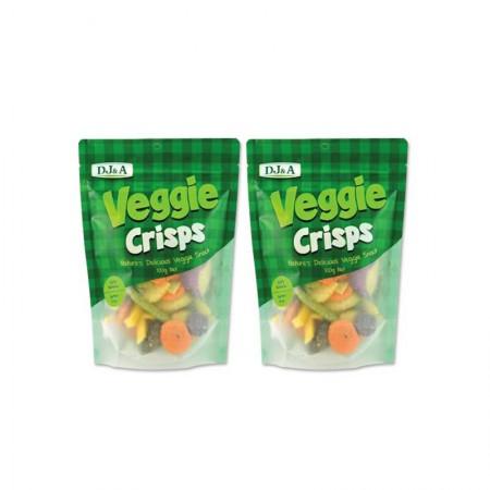澳洲直邮 DJ&A混合香脆蔬菜干·2袋