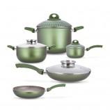 [巴洛奇]pensofal 意大利进口经典厨具•9件套礼盒·绿色