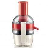 飞利浦(PHILIPS)榨汁机 果汁机家用 大口径 HR1855·红色