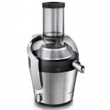 飞利浦(PHILIPS)电动榨汁机家用强劲马达 高出汁率 大口径果汁机 HR1871 ·银色