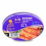 红塔 鲜炸带鱼罐头+鲜炸黄花鱼罐头·158g*12罐