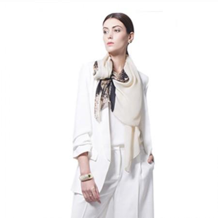 Wise Heburn 欧美时尚·围巾·米色