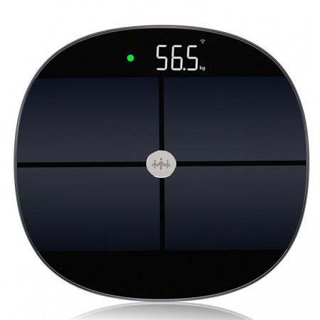 乐心智能体脂秤脂肪秤精准家用测体重秤人体健康电子称秤体重仪S7·黑色