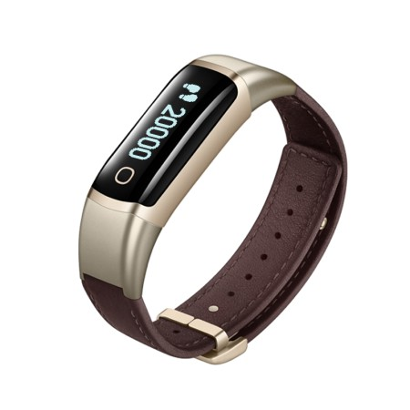 乐心手环测心率智能手表安卓ios防水运动手环ziva(尊享版)·土豪金