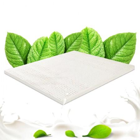 泰嗨 泰国 原装进口天然乳胶床垫1.5米7.5公分·乳白色