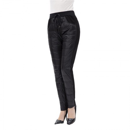 迪欧达 女士羽绒裤·黑色
