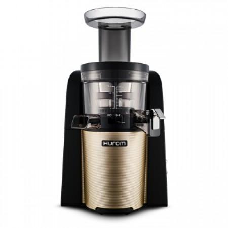 惠人(HUROM) 原装进口三代升级全自动榨汁机 赠钻技套刀·沙金色