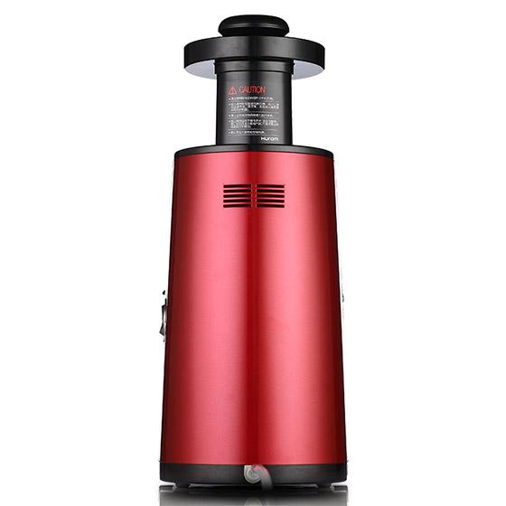 【三代高配】Hurom/惠人三代升级低速原汁机 赠钻技套刀·红色