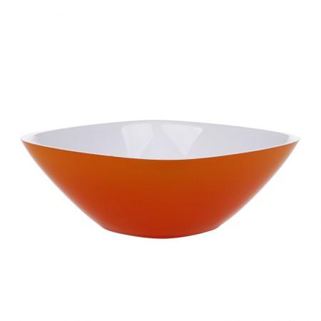 Guzzini意大利进口方口碗(25CM)·橙色
