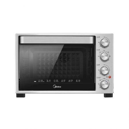 Midea/美的 32L家用多功能大容量电烤箱 T3-321B·银色