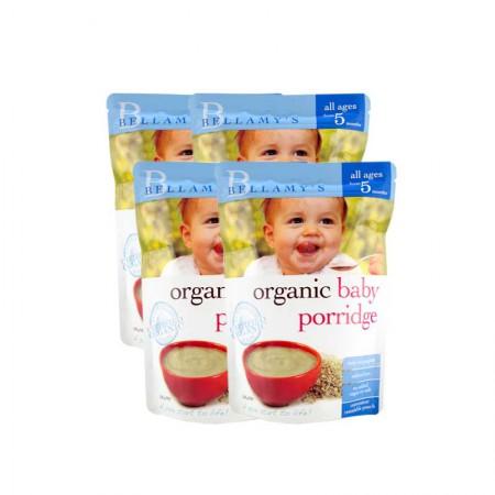 澳洲直邮 贝拉米婴儿米粉5月+·4袋