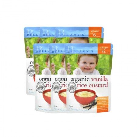 澳洲直邮 贝拉米婴儿米粉6月+·6袋