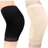 Wise Heburn 舒适莫代尔口袋塑身打底安全裤三条组·白色1条+黑色1条+肤色1条