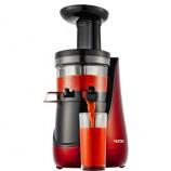 惠人进口二代升级花蕾家用低速原汁机TH13DR2M赠钻技涮烤锅·酒红色