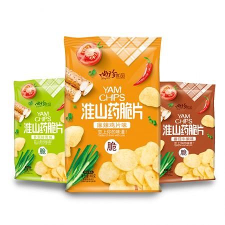 尚珍 怀山药脆片·8袋·番茄牛腩味