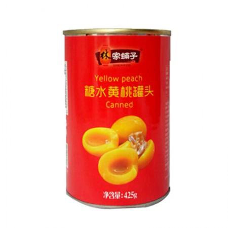 林家铺子 糖水黄桃罐头·425g*6罐