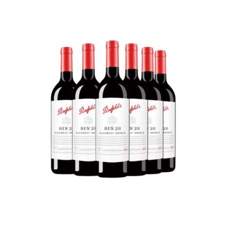 澳洲奔富BIN28卡琳娜设拉子干红葡萄酒·6支