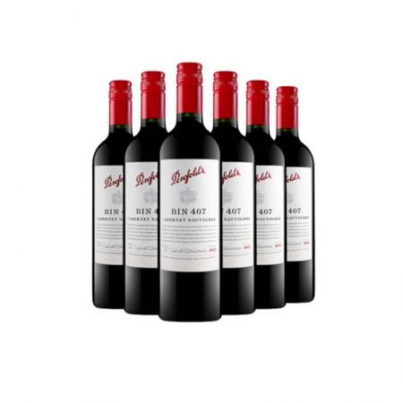澳洲奔富BIN407赤霞珠干红葡萄酒·6支