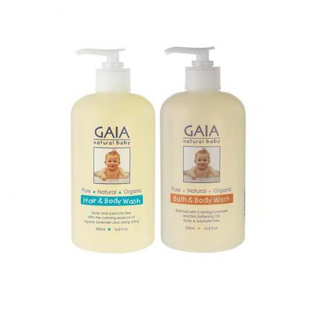 澳洲直邮 Gaia婴幼儿洗发沐浴·2件组