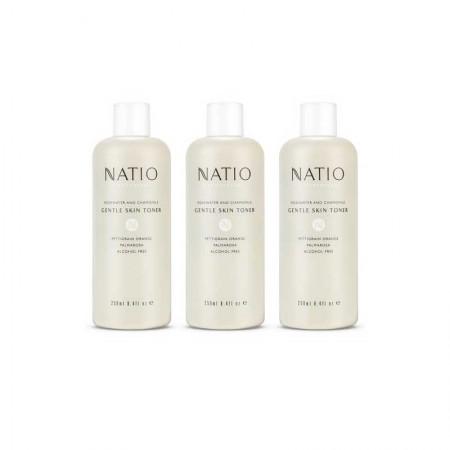 澳洲直邮 Natio洋甘菊玫瑰爽肤水·3瓶