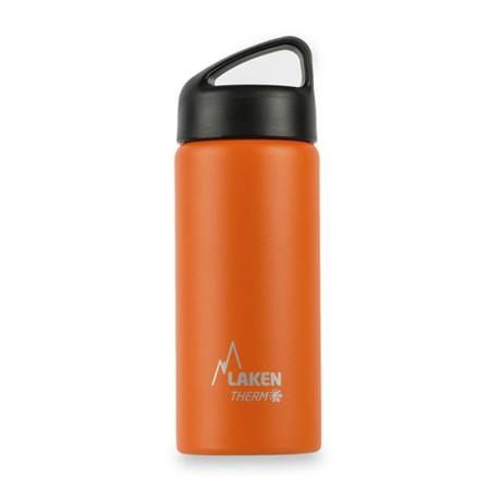 [巴洛奇]LAKEN 西班牙进口不锈钢登山保温水杯500ml·橙色