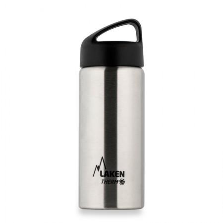 [巴洛奇]LAKEN 西班牙进口不锈钢登山保温水杯500ml·银色