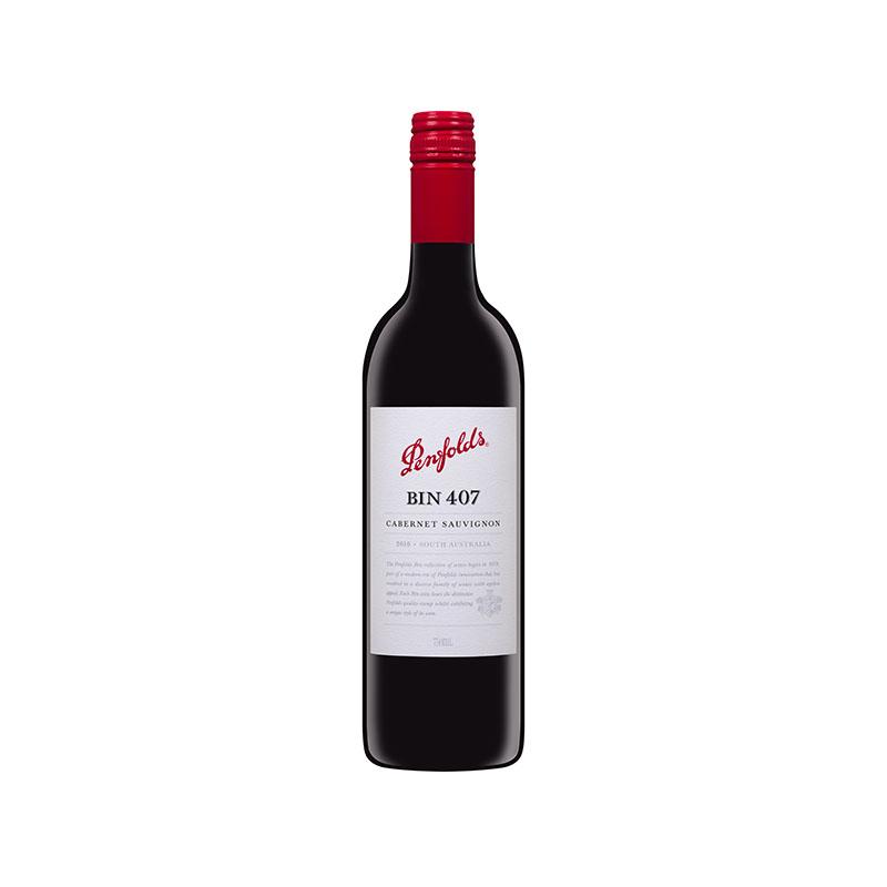 澳洲奔富BIN407赤霞珠干红葡萄酒·2支