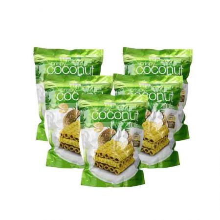 澳洲直邮 Tropical Fields香浓椰奶味椰子卷·5袋