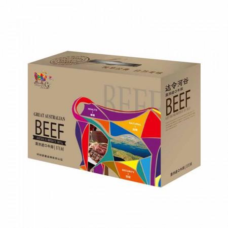 达令河谷 澳洲进口牛排礼盒卡荣耀黄金海岸1020g