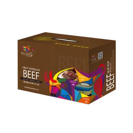 达令河谷 澳洲进口牛排礼盒卡维多利亚臻选1400g