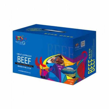 达令河谷 澳洲进口牛排礼盒卡蓝山优选1410g