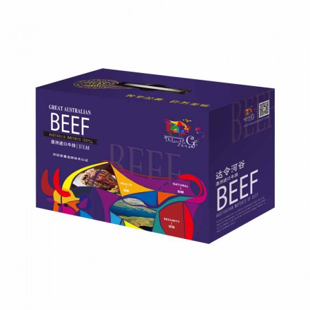 达令河谷 澳洲进口牛排礼盒卡梦幻昆士兰2130g