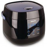 飞利浦(PHILIPS)电饭煲2L迷你智能可预约液晶显示HD3060·黑色