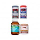 澳洲直邮 老年套装 Swisse男性+女性复合维生素+Blackmores鱼油+Swisse柠檬酸钙