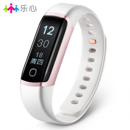 乐心智能手环测心率手表蓝牙计步器安卓苹果ios防水运动手环ziva(运动版·玫瑰金