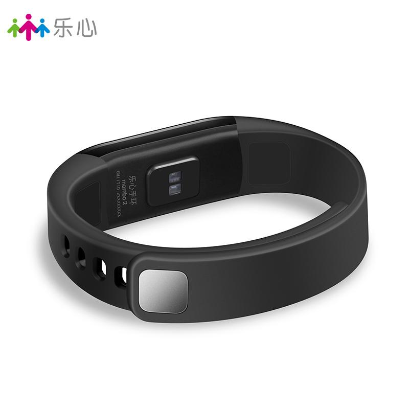 乐心智能手环测心率防水计步器安卓苹果男女蓝牙运动手表mambo2代·黑色