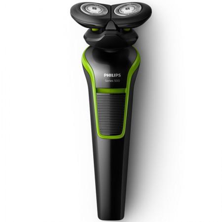 飞利浦(PHILIPS) S529·绿色 男士充电式电动剃须刀全身水洗
