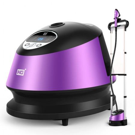 华光(HG)9档液晶 双杆 蒸汽挂烫机 家用手持/挂式电熨斗QY56-HDV·紫色