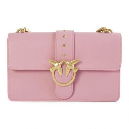 Pinko 时尚浪漫女款系列燕子包 粉色经典款·粉色