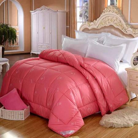 恒源祥 双人十孔羊毛组合被 200x230cm 10斤·红色