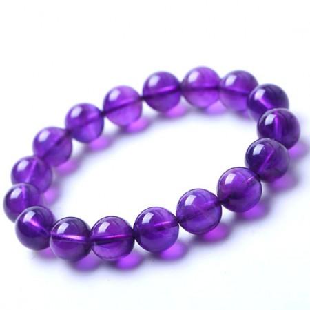 满记天然紫水晶手链约10-11mm