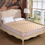 富安娜 保暖厚床垫·橡筋款·浅咖