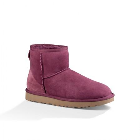 直邮 美国UGG Angelababy代言休闲经典款短靴 玫红色·玫红色
