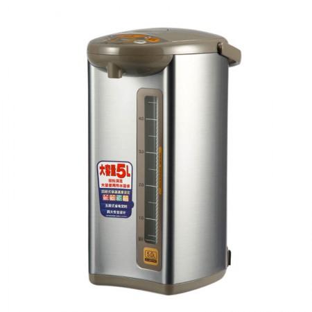 象印(ZOJIRUSHI)电热水瓶5L银棕色CD-WBH50C