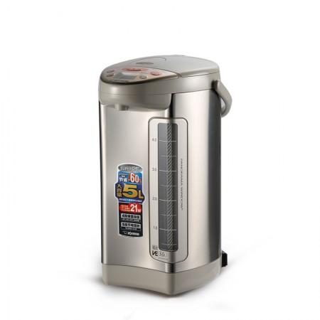 象印(ZOJIRUSHI)微电脑电动给水电热水瓶5L本色CV-DSH50C