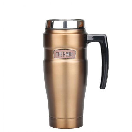 膳魔师(THERMOS) 保温瓶不锈钢保温水壶带把手可车载真空热水瓶 SK-10