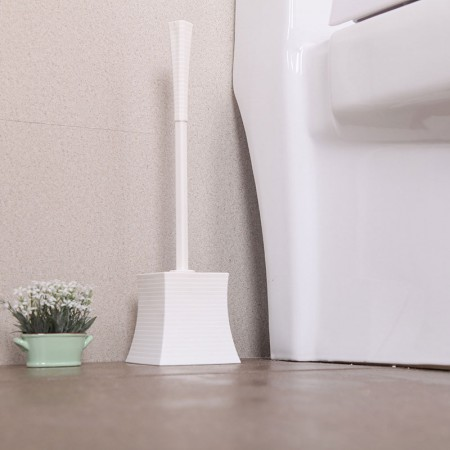 NISHIKI 带盒马桶刷套装卫生间洁厕刷 2个装·白色