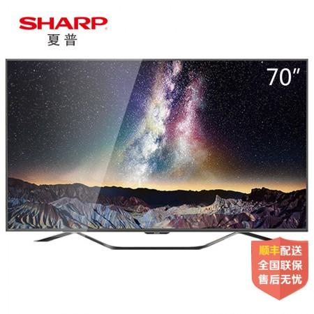 夏普(SHARP)LCD-70SU860A 70英寸4K高清安卓智能平板液晶电视