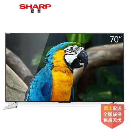 夏普(SHARP)LCD-70SU667A70英寸原装液晶面板 4K超高清智能平板电视