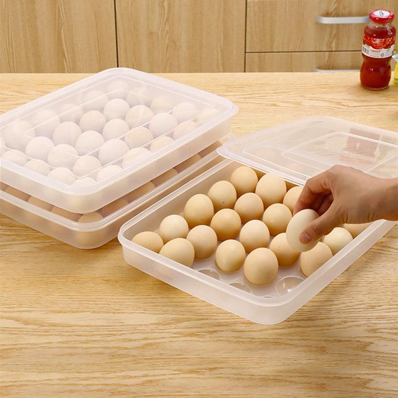 [JM]30格大容量单层鸡蛋盒·透明